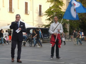 Il Presidente IC Fabrizio Verduchi -Manifestazione per la Famiglia - Teramo 11 Ottobre 2014