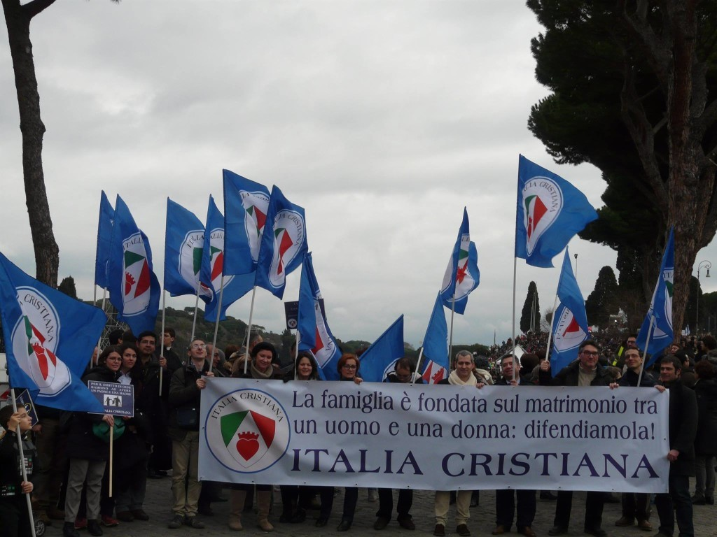 Italia Cristiana al Family Day 2016