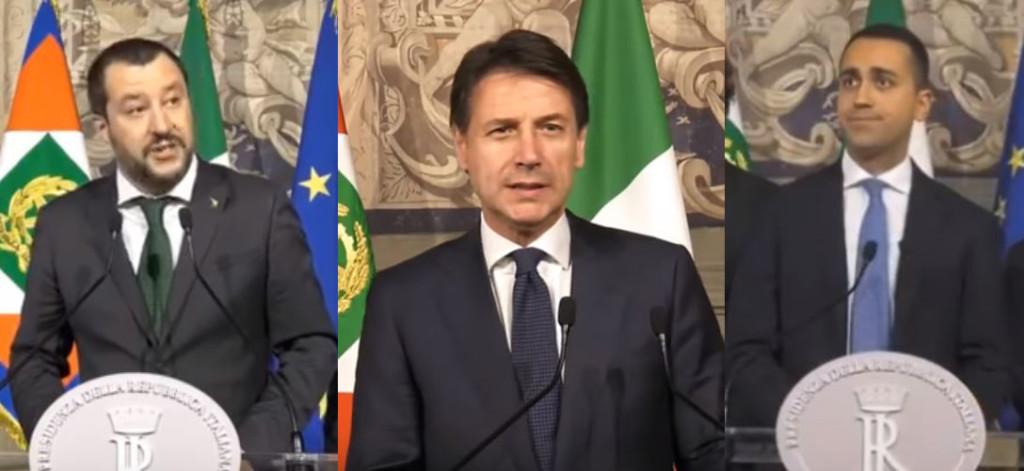 Salvini-Conte-Di-Maio