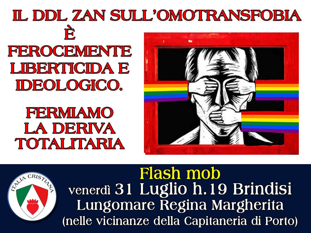 DDL-Zan-liberticida-Flash-mob-Brindisi